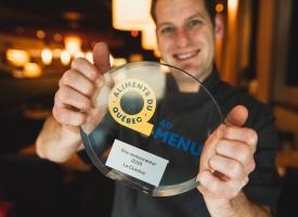 "Winner of ""Aliments du Québec Au Menu"" - 2019 Restaurant category"